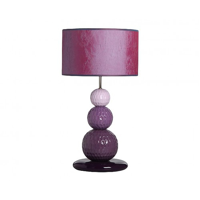 Настольная  лампаДекоративные лампы<br>Настольная гамма с ярким абажуром и оригинальным основанием в виде трех шаров, цветовое решение которых выполнено в градиентном дизайне.&amp;lt;div&amp;gt;&amp;lt;br&amp;gt;&amp;lt;/div&amp;gt;&amp;lt;div&amp;gt;&amp;lt;div&amp;gt;Вид цоколя: E27&amp;lt;/div&amp;gt;&amp;lt;div&amp;gt;Мощность: 60W&amp;lt;/div&amp;gt;&amp;lt;div&amp;gt;Количество ламп: 1&amp;lt;/div&amp;gt;&amp;lt;/div&amp;gt;<br><br>Material: Керамика<br>Height см: 65.5<br>Diameter см: 35