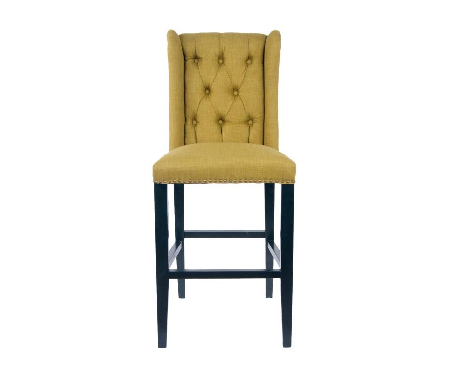 Барный стул SkiptonБарные стулья<br>Высокий барный стул выполнен из экологически чистого массива древесины высокого качества. Лаконичный дизайн и современный стиль этого предмета сделают ваш интерьер еще более комфортным для жизни.&amp;amp;nbsp;<br><br>Material: Лен<br>Width см: 52<br>Depth см: 50<br>Height см: 125