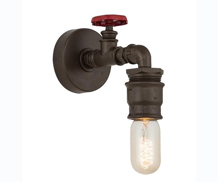 Бра ТРУБАБра<br>E27 1*40W (лампами не комплектуется)<br><br>Material: Металл<br>Depth см: None<br>Height см: 22<br>Diameter см: 10