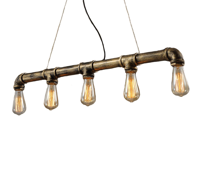 Подвес ТРУБАПодвесные светильники<br>&amp;amp;nbsp;E27 5*40w (лампами не комплектуется)<br><br>Material: Металл<br>Width см: 94<br>Depth см: 10<br>Height см: 130