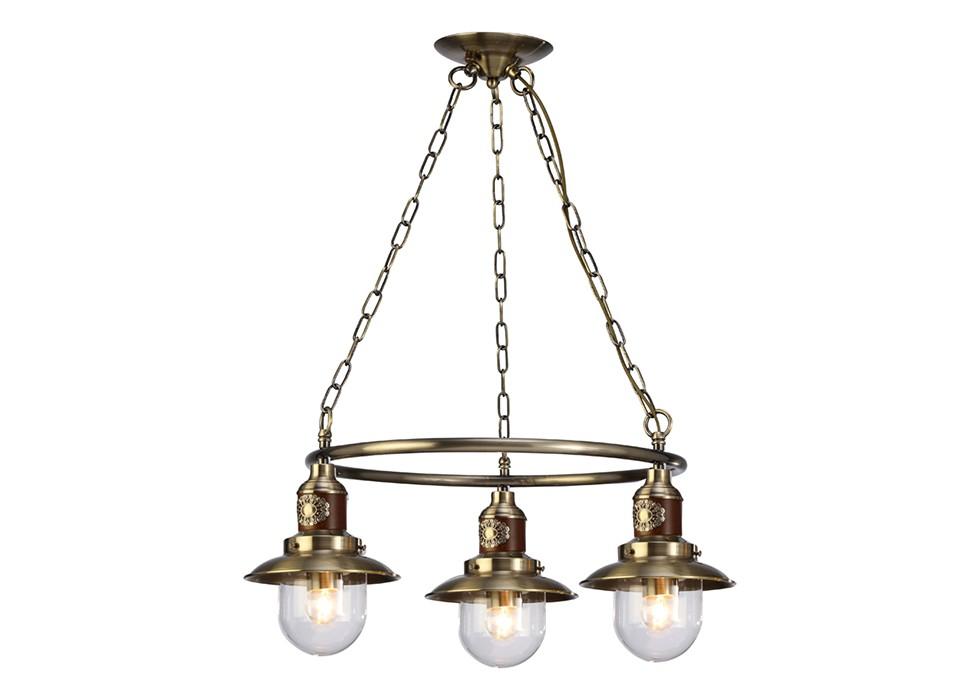 Подвесная люстраЛюстры подвесные<br>Вид цоколя: Е27. Мощность: 60W. Количество ламп: 3.<br><br>Material: Металл<br>Width см: 65<br>Depth см: 65<br>Height см: 25