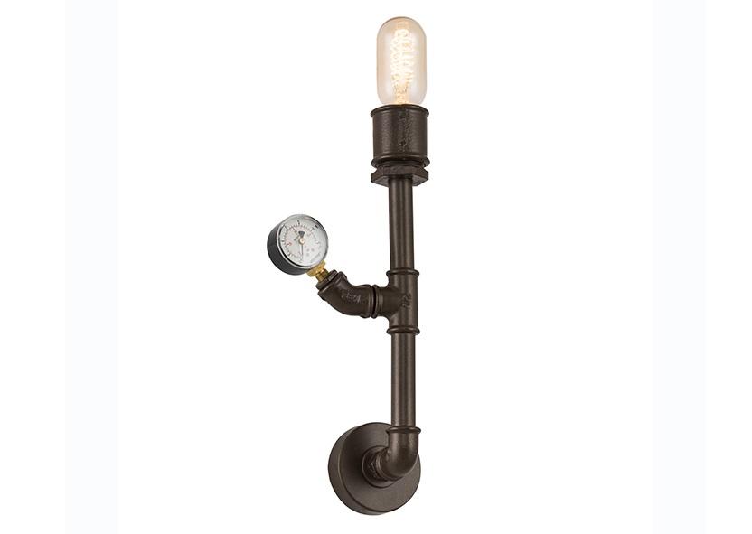 Бра ТРУБАБра<br>&amp;amp;nbsp;E27 1*40W (лампами не комплектуется)<br><br>Material: Металл<br>Width см: 9<br>Height см: 48