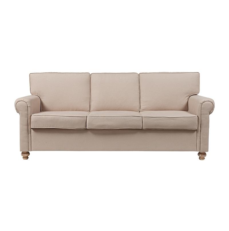 Диван The Pettite Lancaster Upholstered SofaТрехместные диваны<br><br><br>Material: Текстиль<br>Width см: 225<br>Depth см: 92<br>Height см: 95