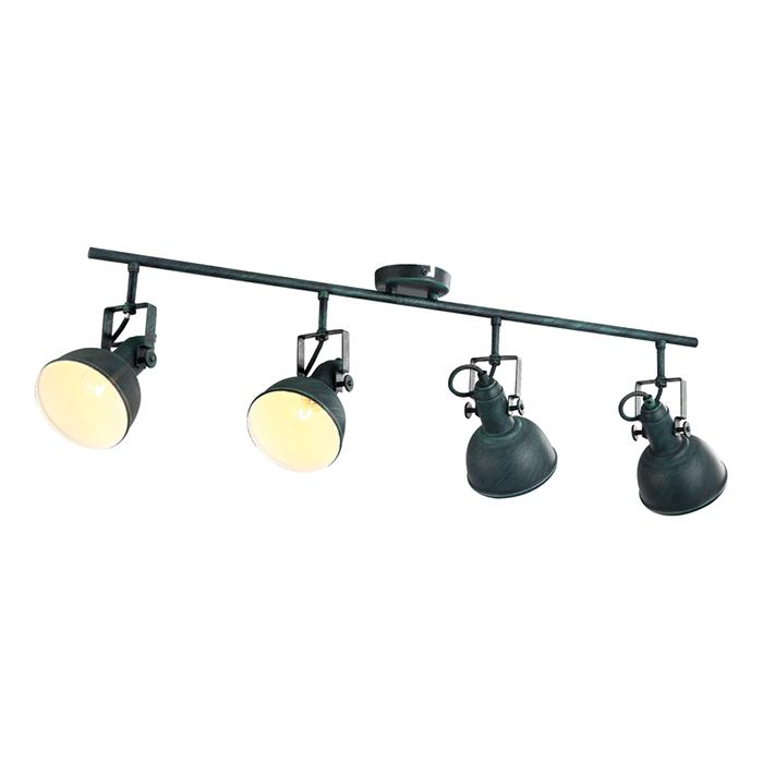СпотСпоты<br>Вид цоколя: Е14. Мощность: 40W. Количество ламп: 4.<br><br>Material: Металл<br>Width см: 80<br>Depth см: 20<br>Height см: 22