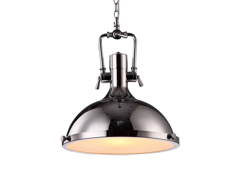 Подвесной светильникПодвесные светильники<br>Вид цоколя: Е27. Мощность: 40W. Количество ламп: 1.<br><br>Material: Металл<br>Width см: None<br>Depth см: None<br>Height см: 41<br>Diameter см: 40