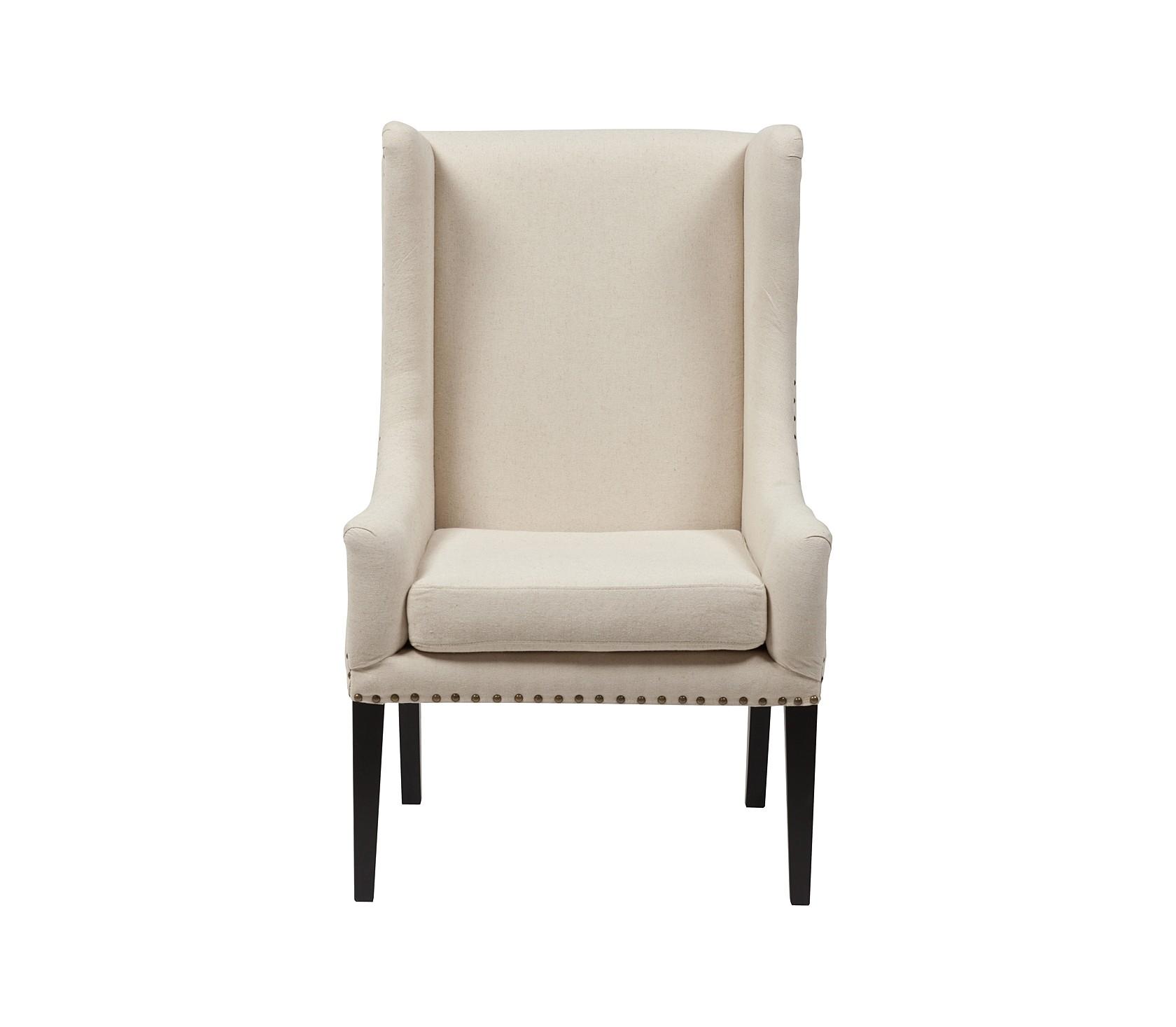 "Кресло ""Nailhead Fabric Armchair"""