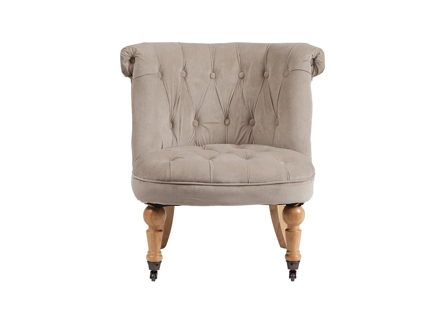 Кресло Amelie French CountryИнтерьерные кресла<br><br><br>Material: Лен<br>Width см: 63<br>Depth см: 64<br>Height см: 71