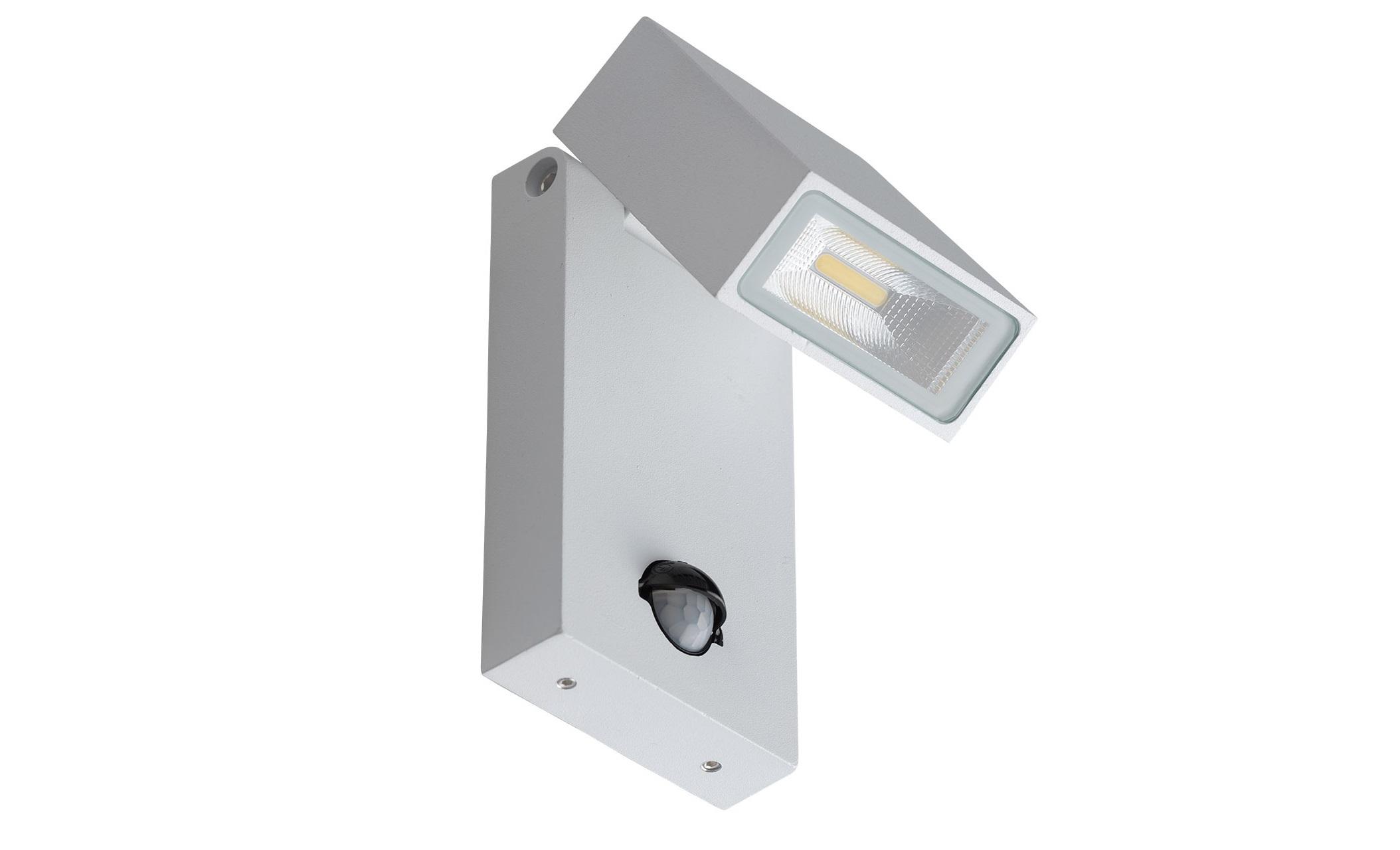 Уличный светильник МеркурийУличные настенные светильники<br>&amp;lt;div&amp;gt;Многофункциональный светильник из коллекции «Меркурий» соединяет в себе строгий современный дизайн и &amp;amp;nbsp;новейшие технологии. Металлическое основание окрашено в классический белый цвет. &amp;amp;nbsp;По своему желанию можно регулировать направление светового потока. &amp;amp;nbsp;Светильник оснащен датчиком движения и настройкой чувствительности, а также имеет высокие показатели влагозащищенности, благодаря чему &amp;amp;nbsp;идеально подходит для использования на улице. Площадь освещения порядка 4 кв.м.&amp;amp;nbsp;&amp;lt;span style=&amp;quot;line-height: 1.78571;&amp;quot;&amp;gt;Металлическое основание белого цвета.&amp;lt;/span&amp;gt;&amp;lt;/div&amp;gt;&amp;lt;div&amp;gt;&amp;lt;span style=&amp;quot;line-height: 1.78571;&amp;quot;&amp;gt;&amp;lt;br&amp;gt;&amp;lt;/span&amp;gt;&amp;lt;/div&amp;gt;&amp;lt;div&amp;gt;&amp;lt;div&amp;gt;Количество ламп: 1 шт&amp;lt;/div&amp;gt;&amp;lt;div&amp;gt;Мощность лампы:10W&amp;lt;/div&amp;gt;&amp;lt;div&amp;gt;Тип лампы: LED&amp;lt;/div&amp;gt;&amp;lt;/div&amp;gt;&amp;lt;div&amp;gt;&amp;lt;span style=&amp;quot;line-height: 1.78571;&amp;quot;&amp;gt;Степень защиты светильников от пыли и влаги&amp;lt;/span&amp;gt;&amp;lt;span style=&amp;quot;line-height: 1.78571;&amp;quot;&amp;gt;&amp;amp;nbsp;IP65&amp;lt;/span&amp;gt;&amp;lt;/div&amp;gt;&amp;lt;div&amp;gt;&amp;lt;span style=&amp;quot;line-height: 1.78571;&amp;quot;&amp;gt;Рабочее напряжение &amp;amp;nbsp;220V&amp;amp;nbsp;&amp;lt;/span&amp;gt;&amp;lt;/div&amp;gt;<br><br>Material: Металл<br>Length см: None<br>Width см: 8<br>Depth см: 12<br>Height см: 19