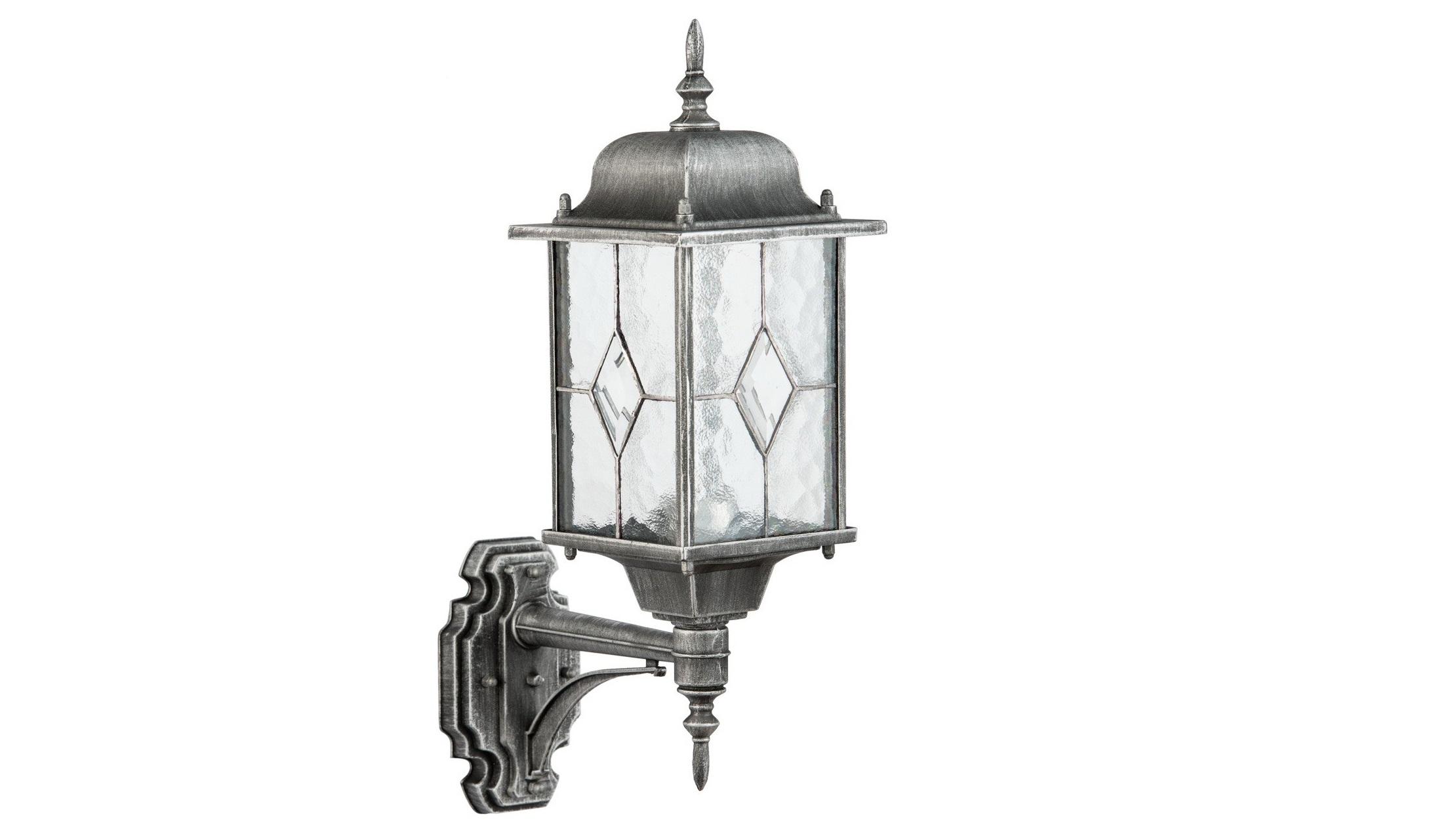 Уличный светильник БургосУличные настенные светильники<br>&amp;lt;div&amp;gt;Оригинальное витражное стекло в коллекции Бургос красиво преломляет лучи света, тем самым достойно украшая конструкцию светильников. Контуры алюминиевого литого основания чёрного цвета декорированы модной серебряной патиной. Благодаря лёгкости металлической конструкции и интересному дизайну, светильник отлично впишется в экстерьер любого природного ландшафта.&amp;lt;/div&amp;gt;&amp;lt;div&amp;gt;Основание из литого алюминия черного цвета, декорированное серебряной патиной, плафоны &amp;amp;nbsp;- витражное стекло.&amp;lt;/div&amp;gt;&amp;lt;div&amp;gt;&amp;lt;br&amp;gt;&amp;lt;/div&amp;gt;&amp;lt;div&amp;gt;Мощность 1*95W&amp;lt;/div&amp;gt;&amp;lt;div&amp;gt;Цоколь E27&amp;lt;/div&amp;gt;&amp;lt;div&amp;gt;Степень защиты светильников от пыли и влаги IP 44&amp;lt;/div&amp;gt;<br><br>Material: Алюминий<br>Ширина см: 16<br>Высота см: 48<br>Глубина см: 29