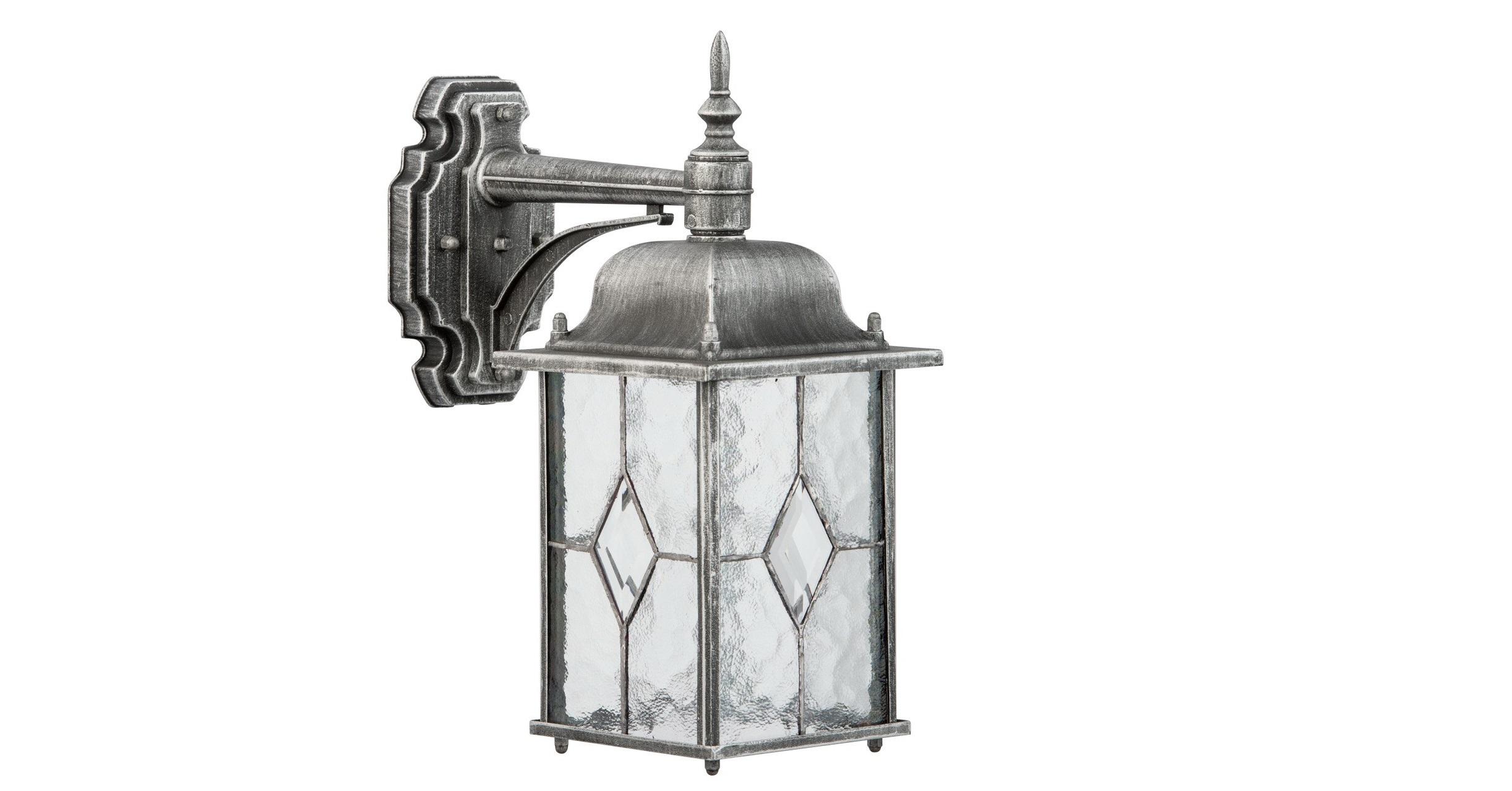 Уличный светильник БургосУличные настенные светильники<br>&amp;lt;div&amp;gt;Оригинальное витражное стекло в коллекции Бургос красиво преломляет лучи света, тем самым достойно украшая конструкцию светильников. Контуры алюминиевого литого основания чёрного цвета декорированы модной серебряной патиной. Благодаря лёгкости металлической конструкции и интересному дизайну, светильник отлично впишется в экстерьер любого природного ландшафта.&amp;lt;/div&amp;gt;&amp;lt;div&amp;gt;Основание из литого алюминия черного цвета, декорированное серебряной патиной, плафоны &amp;amp;nbsp;- витражное стекло.&amp;lt;/div&amp;gt;&amp;lt;div&amp;gt;&amp;lt;br&amp;gt;&amp;lt;/div&amp;gt;&amp;lt;div&amp;gt;Мощность 1*95W&amp;lt;/div&amp;gt;&amp;lt;div&amp;gt;Цоколь E27&amp;lt;/div&amp;gt;&amp;lt;div&amp;gt;Рабочее напряжение 220 V&amp;lt;/div&amp;gt;&amp;lt;div&amp;gt;Степень защиты светильников от пыли и влаги&amp;amp;nbsp;IP44&amp;lt;/div&amp;gt;<br><br>Material: Алюминий<br>Length см: None<br>Width см: 16<br>Depth см: 29<br>Height см: 35