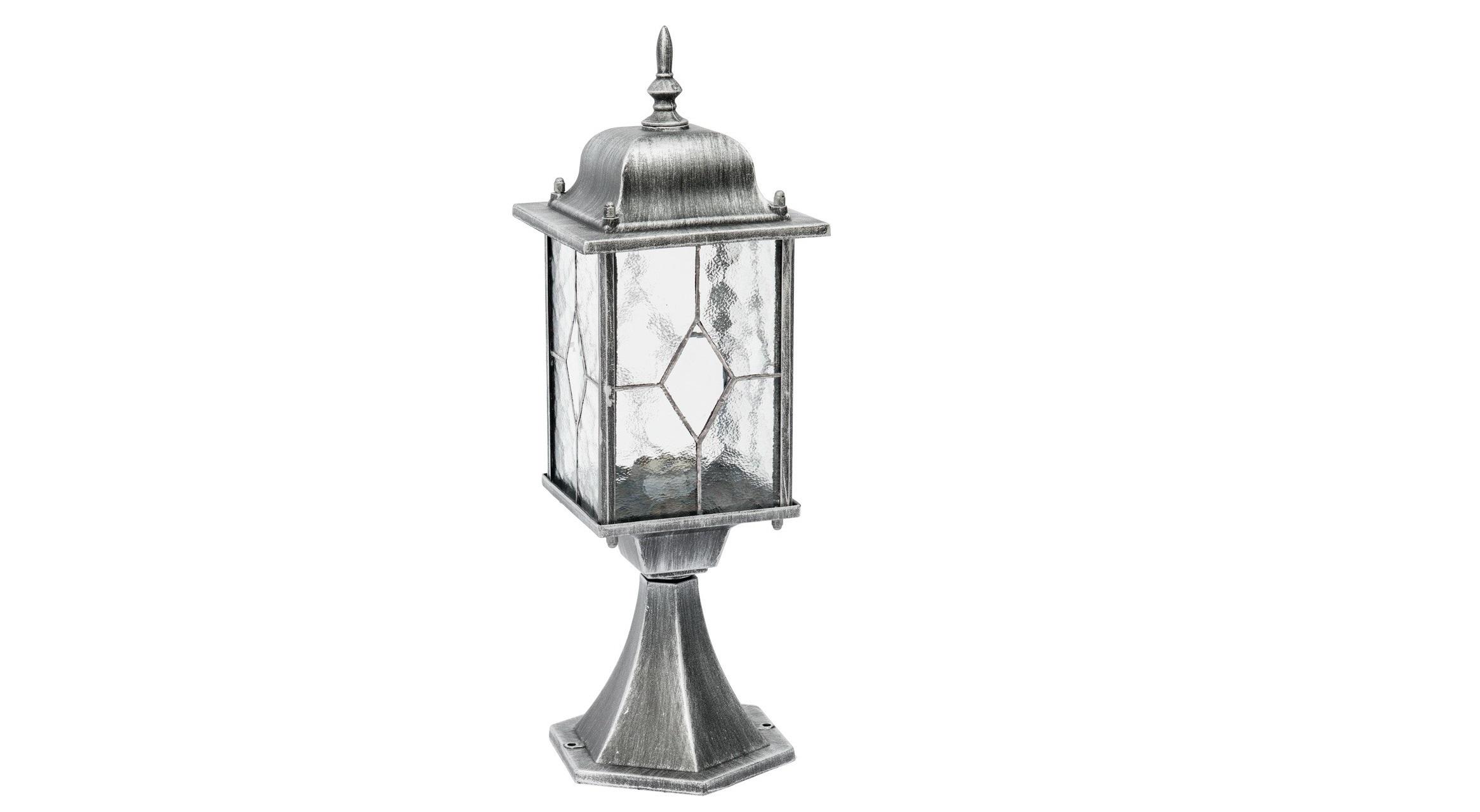 Уличный светильник БургосУличные наземные светильники<br>&amp;lt;div&amp;gt;Оригинальное витражное стекло в коллекции Бургос красиво преломляет лучи света, тем самым достойно украшая конструкцию светильников. Контуры алюминиевого литого основания чёрного цвета декорированы модной серебряной патиной. Благодаря лёгкости металлической конструкции и интересному дизайну, светильник отлично впишется в экстерьер любого природного ландшафта.&amp;lt;/div&amp;gt;&amp;lt;div&amp;gt;Основание из литого алюминия черного цвета, декорированное серебряной патиной, плафоны &amp;amp;nbsp;- витражное стекло&amp;lt;/div&amp;gt;&amp;lt;div&amp;gt;&amp;lt;br&amp;gt;&amp;lt;/div&amp;gt;&amp;lt;div&amp;gt;Мощность 1*95W&amp;lt;/div&amp;gt;&amp;lt;div&amp;gt;Цоколь E27&amp;lt;/div&amp;gt;&amp;lt;div&amp;gt;Степень защиты светильников от пыли и влаги IP44&amp;lt;/div&amp;gt;<br><br>Material: Алюминий<br>Ширина см: 16<br>Высота см: 48<br>Глубина см: 16
