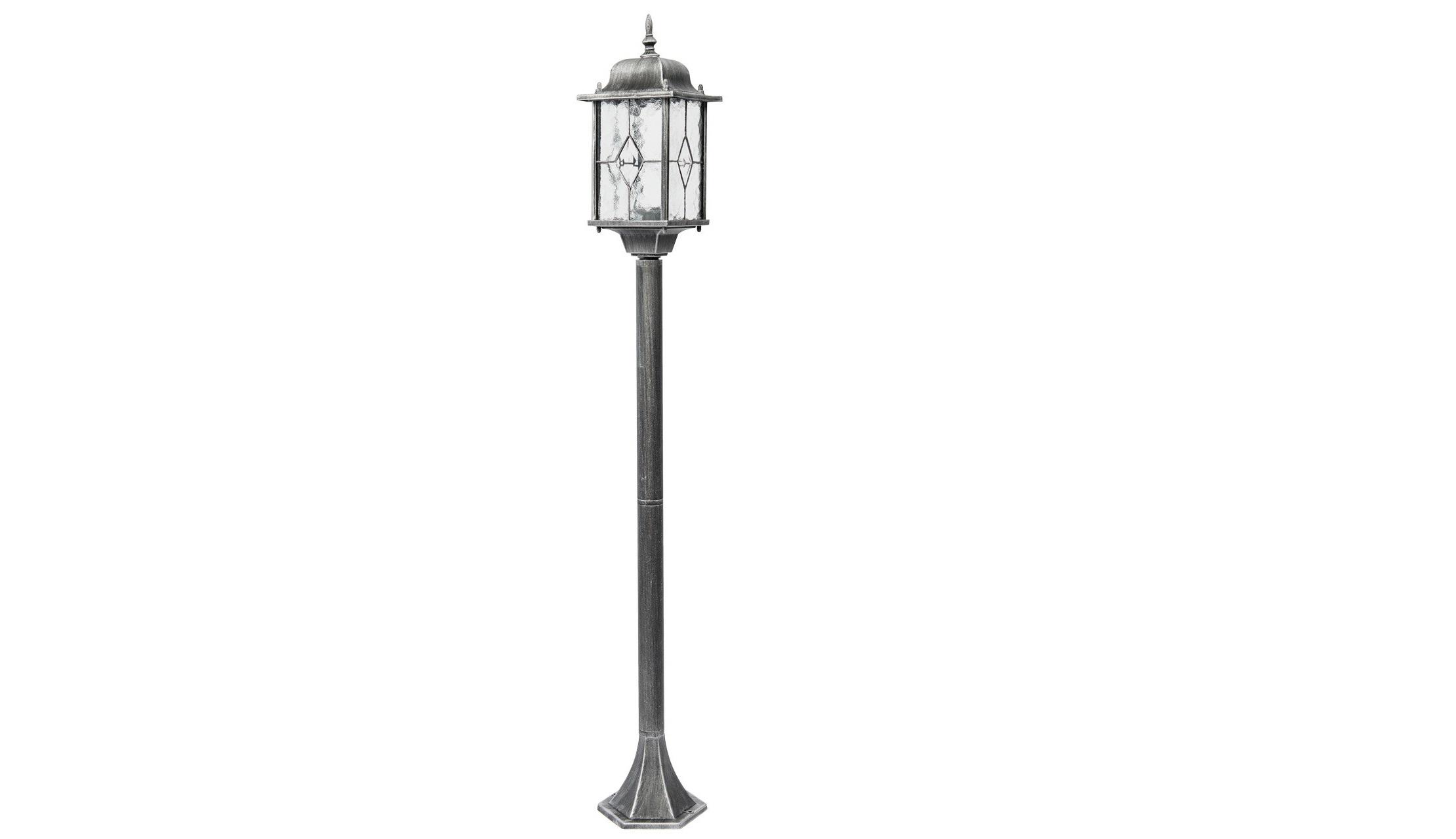 Уличный светильник БургосУличные наземные светильники<br>&amp;lt;div&amp;gt;Оригинальное витражное стекло в коллекции Бургос красиво преломляет лучи света, тем самым достойно украшая конструкцию светильников. Контуры алюминиевого литого основания чёрного цвета декорированы модной серебряной патиной. Благодаря лёгкости металлической конструкции и интересному дизайну, светильник отлично впишется в экстерьер любого природного ландшафта.&amp;lt;/div&amp;gt;&amp;lt;div&amp;gt;Основание из литого алюминия черного цвета, декорированное серебряной патиной, плафоны &amp;amp;nbsp;- витражное стекло&amp;lt;/div&amp;gt;&amp;lt;div&amp;gt;&amp;lt;br&amp;gt;&amp;lt;/div&amp;gt;&amp;lt;div&amp;gt;Мощность 1*95W&amp;lt;/div&amp;gt;&amp;lt;div&amp;gt;Цоколь E27&amp;lt;/div&amp;gt;&amp;lt;div&amp;gt;Степень защиты от влаги и пыли &amp;amp;nbsp;IP44&amp;lt;/div&amp;gt;<br><br>Material: Алюминий<br>Length см: None<br>Width см: 16<br>Depth см: 16<br>Height см: 122