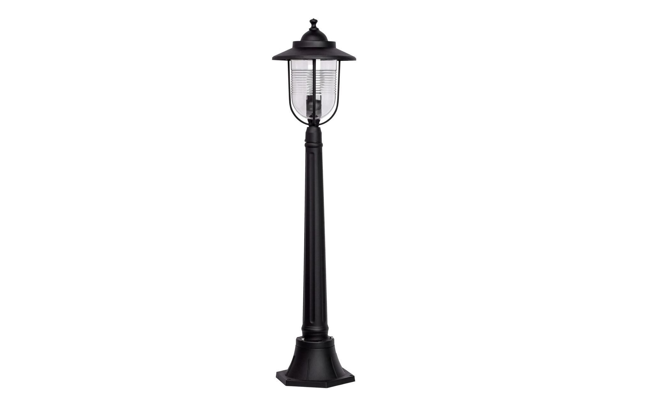 Уличный светильник ЛастерУличные наземные светильники<br>&amp;lt;div&amp;gt;Новые модели уличных светильников из коллекции Ластер будет прекрасным световым дополнением на Вашем загородном участке. Металлическое основание чёрного цвета с небольшим декоративным колпаком отлично сочетается с плафоном из облегчённого акрила округлой формы. Светильник Ластер имеет высокую степень защиты (IP44), что является одним из главных плюсов при его эксплуатации. Выгодное соотношение цены и качества обеспечит этому светильнику долгий срок службы и станет очень выгодной покупкой.&amp;lt;/div&amp;gt;&amp;lt;div&amp;gt;Основание из алюминия черного цвета, плафон из ударопрочного акрила.&amp;lt;/div&amp;gt;&amp;lt;div&amp;gt;&amp;lt;br&amp;gt;&amp;lt;/div&amp;gt;&amp;lt;div&amp;gt;Мощность 1*95W&amp;lt;/div&amp;gt;&amp;lt;div&amp;gt;Цоколь E27&amp;lt;/div&amp;gt;&amp;lt;div&amp;gt;Степень защиты от влаги и пыли IP44&amp;lt;/div&amp;gt;<br><br>Material: Алюминий<br>Высота см: 107