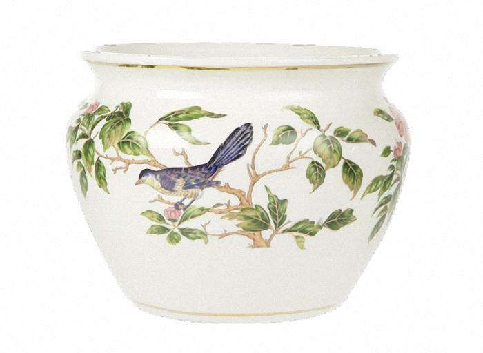 Кашпо ПтицыКашпо и вазы для сада<br><br><br>Material: Керамика<br>Height см: 26<br>Diameter см: 31