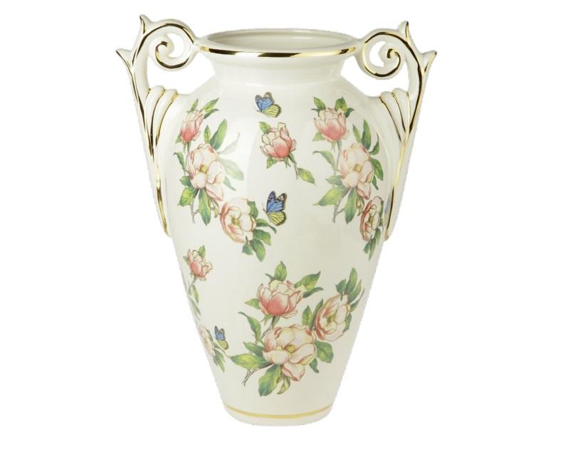 Ваза напольная БабочкиКашпо и вазы для сада<br><br><br>Material: Керамика<br>Length см: None<br>Width см: 45<br>Depth см: 30<br>Height см: 54