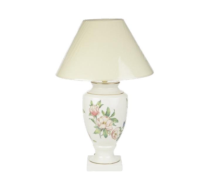 Светильник БабочкиНастольные лампы<br>Фаянсовый светильник украсит любой интерьер.&amp;lt;div&amp;gt;&amp;lt;br&amp;gt;&amp;lt;div&amp;gt;Цоколь: E27&amp;lt;/div&amp;gt;&amp;lt;div&amp;gt;Мощность: 60w&amp;lt;/div&amp;gt;&amp;lt;div&amp;gt;Количество лампочек: 1&amp;lt;/div&amp;gt;&amp;lt;/div&amp;gt;<br><br>Material: Керамика<br>Length см: None<br>Width см: None<br>Height см: 36<br>Diameter см: 21