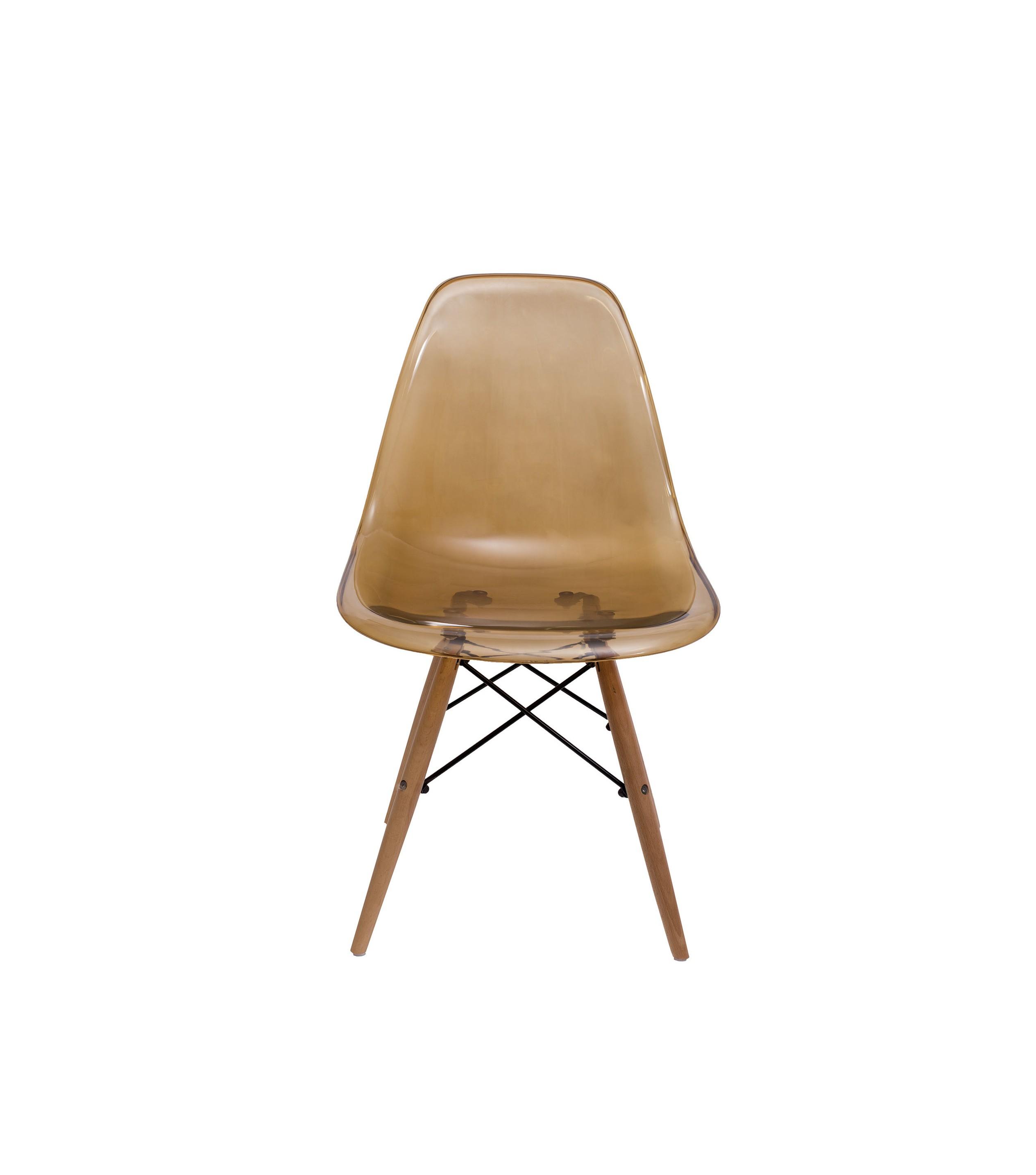 Стул ГавайиОбеденные стулья<br>Стильные яркие стулья из коллекции «Гавайи» придутся по вкусу поклонникам стиля модерн. Вопреки строгой геометрии сглаженность линий и природные оттенки позволят забыть о привычных условностях в декоре интерьера.<br><br>Material: Пластик<br>Ширина см: 48<br>Высота см: 82<br>Глубина см: 46