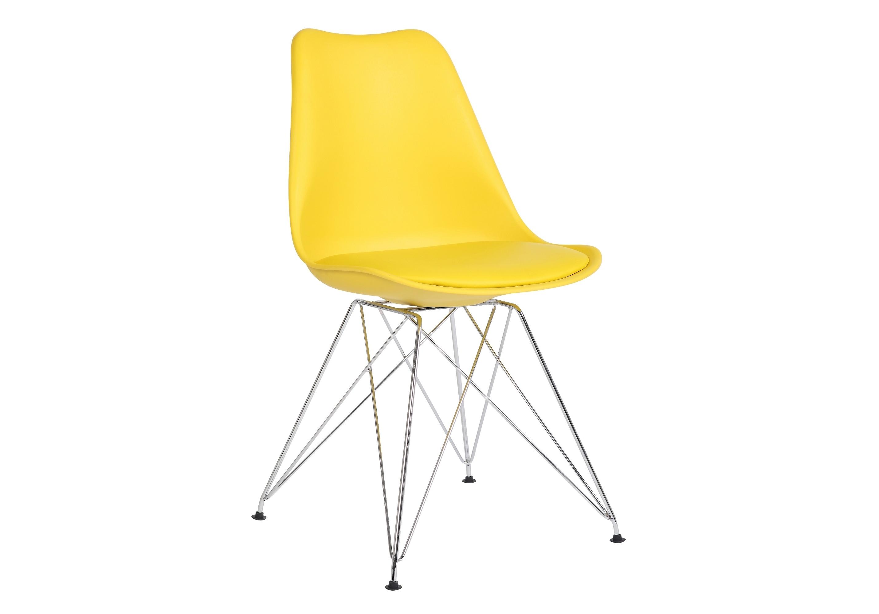 Стул JY18061 желтыйОбеденные стулья<br><br><br>Material: Пластик<br>Width см: 48<br>Depth см: 48<br>Height см: 87