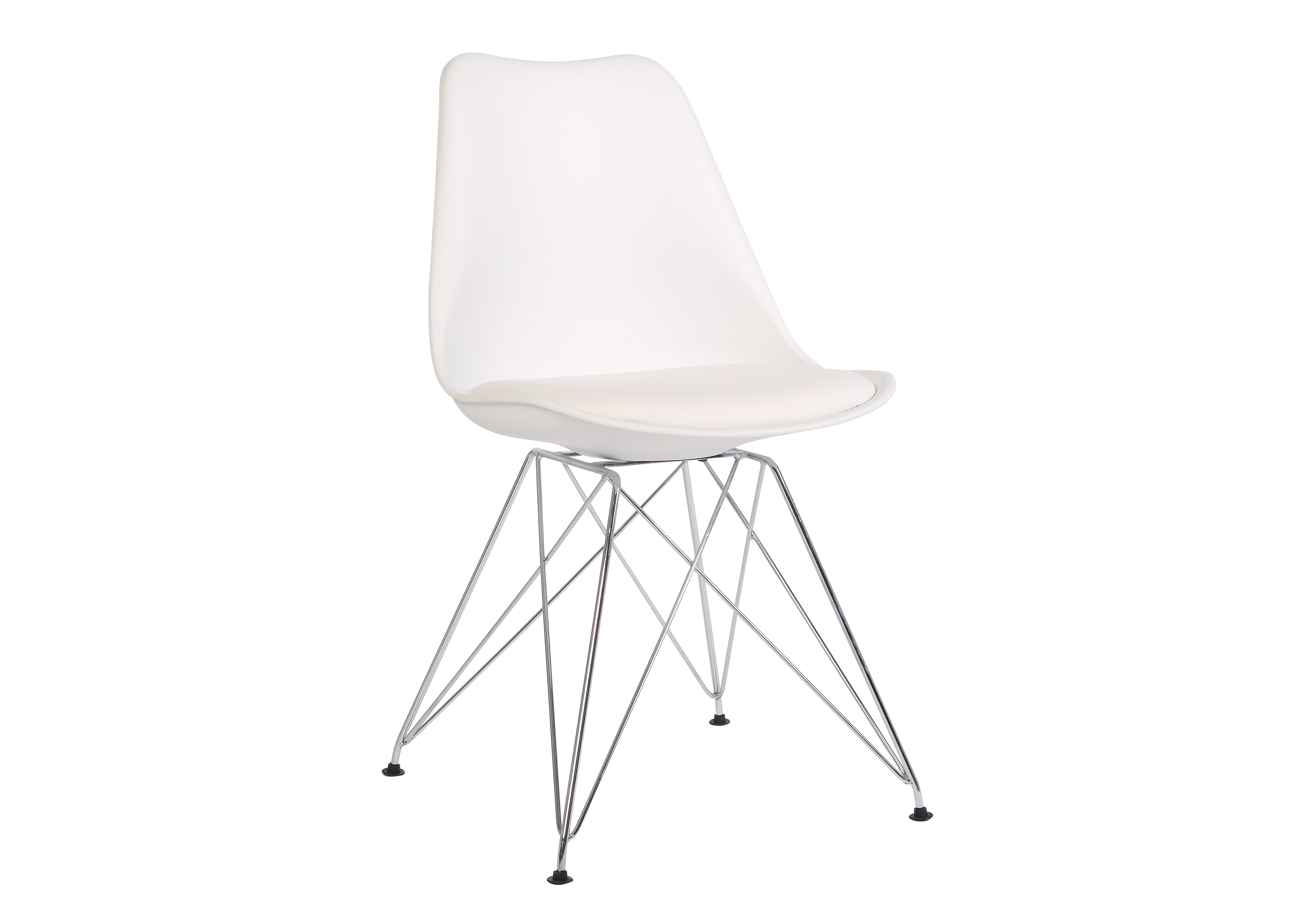 Стул JY18061 белыйОбеденные стулья<br><br><br>Material: Пластик<br>Ширина см: 48<br>Высота см: 87<br>Глубина см: 48