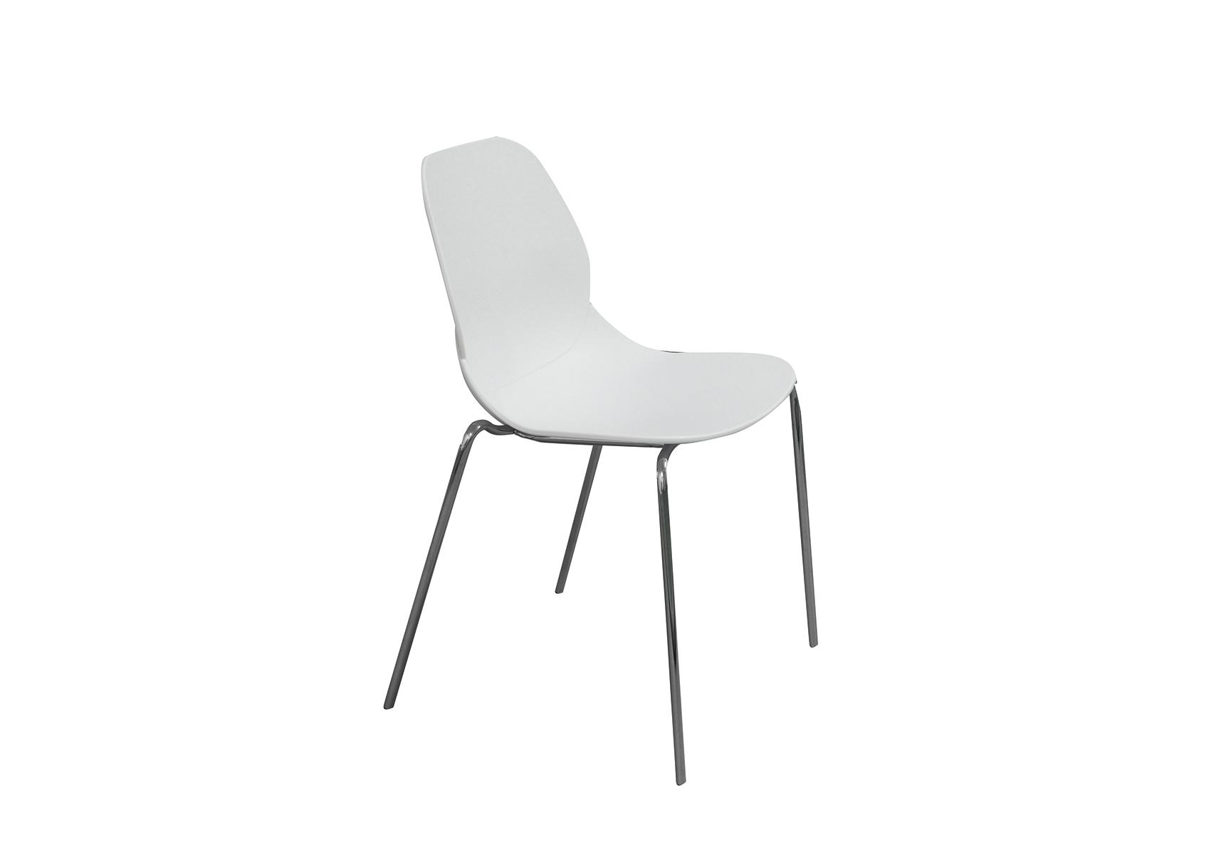 Стул CT-615 белыйОбеденные стулья<br><br><br>Material: Пластик<br>Ширина см: 54<br>Высота см: 82<br>Глубина см: 49