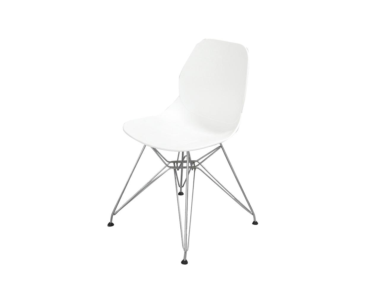 Стул CT-625 белыйОбеденные стулья<br><br><br>Material: Пластик<br>Width см: 48<br>Depth см: 48<br>Height см: 82