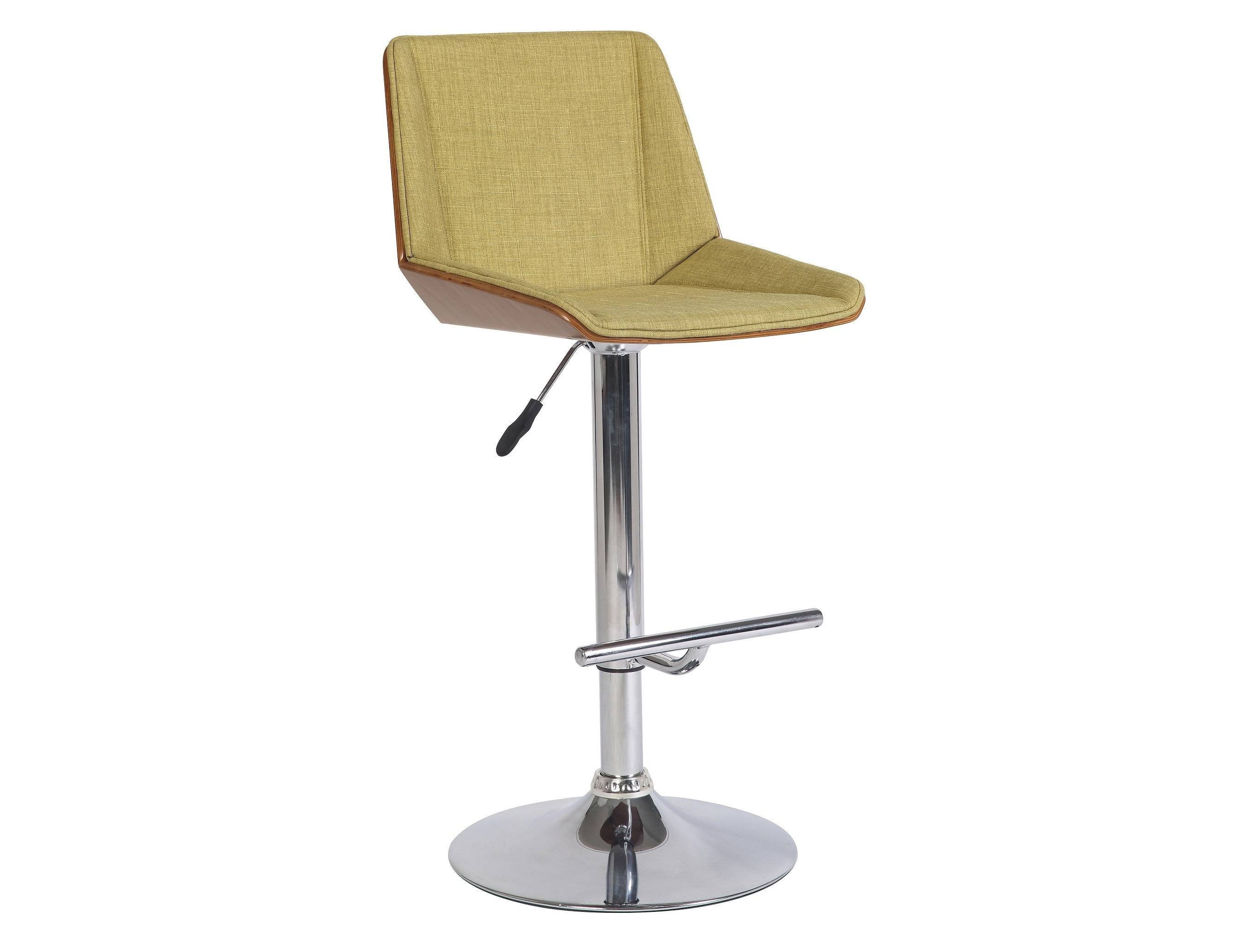 Стул барный JY1978 зеленыйБарные стулья<br>Материал: Ткань, хром<br><br>Material: Металл<br>Length см: лид<br>Width см: 60<br>Depth см: 52<br>Height см: 111