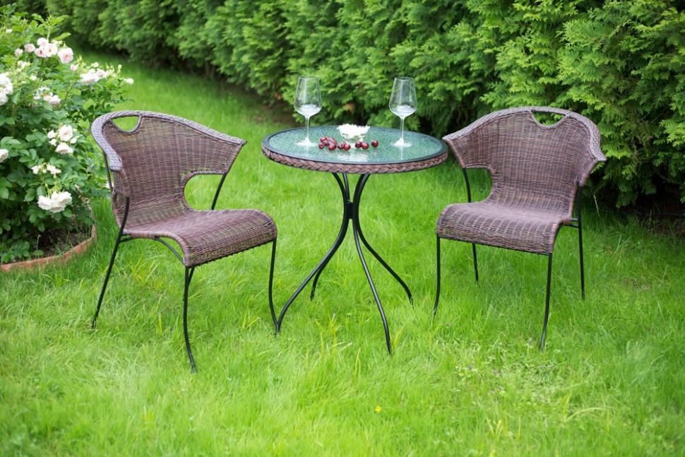 Набор садовой мебели из ротанга MODENA (стол + 2 стула)Комплекты уличной мебели<br>&amp;lt;div&amp;gt;Столешница стола изготовлена из прочного закаленного серого стекла и украшена искусственным покрытием из ротанга. Ножки и рама стола Modena также выполнены из стали.&amp;lt;/div&amp;gt;&amp;lt;div&amp;gt;&amp;lt;br&amp;gt;&amp;lt;/div&amp;gt;&amp;lt;div&amp;gt;&amp;lt;div style=&amp;quot;line-height: 24.9999px;&amp;quot;&amp;gt;&amp;lt;div style=&amp;quot;line-height: 24.9999px;&amp;quot;&amp;gt;СТОЛ MODENA&amp;lt;/div&amp;gt;&amp;lt;div style=&amp;quot;line-height: 24.9999px;&amp;quot;&amp;gt;Материал: стекло закаленное с узором/искусственный ротанг/сталь&amp;lt;/div&amp;gt;&amp;lt;div style=&amp;quot;line-height: 24.9999px;&amp;quot;&amp;gt;Размеры изделия: 64?72 см&amp;lt;/div&amp;gt;&amp;lt;div style=&amp;quot;line-height: 24.9999px;&amp;quot;&amp;gt;Размеры упаковки: 66?72?8 см&amp;lt;/div&amp;gt;&amp;lt;div style=&amp;quot;line-height: 24.9999px;&amp;quot;&amp;gt;Вес одного изделия: 10 кг&amp;lt;/div&amp;gt;&amp;lt;div style=&amp;quot;line-height: 24.9999px;&amp;quot;&amp;gt;СТУЛЬЯ MODENA&amp;lt;/div&amp;gt;&amp;lt;div style=&amp;quot;line-height: 24.9999px;&amp;quot;&amp;gt;Размеры изделия: 61?57,5?77 см&amp;lt;/div&amp;gt;&amp;lt;div style=&amp;quot;line-height: 24.9999px;&amp;quot;&amp;gt;Размеры упаковки: 62?60?80 см&amp;lt;/div&amp;gt;&amp;lt;div style=&amp;quot;line-height: 24.9999px;&amp;quot;&amp;gt;Вес одного изделия: 6,3 кг&amp;lt;/div&amp;gt;&amp;lt;/div&amp;gt;&amp;lt;/div&amp;gt;<br><br>Material: Ротанг<br>Width см: None<br>Depth см: None<br>Height см: 72<br>Diameter см: 64