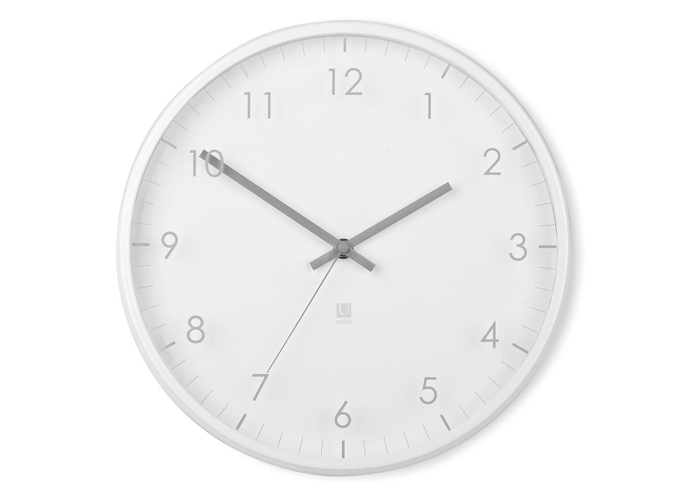 Часы настенные PaceНастенные часы<br>Настенные часы с незаметной на первый взгляд, но весьма оригинальной деталью: цифры и деления нарисованы не на циферблате, а на наружнем стекле. Обрамлены металлическим ободом.  Работают от одной стандартной батарейки АА (в комплект не входит).&amp;lt;div&amp;gt;&amp;lt;br&amp;gt;&amp;lt;/div&amp;gt;&amp;lt;div&amp;gt;Дизайн: Umbra Studio&amp;lt;/div&amp;gt;<br><br>Material: Стекло<br>Depth см: 4<br>Diameter см: 32