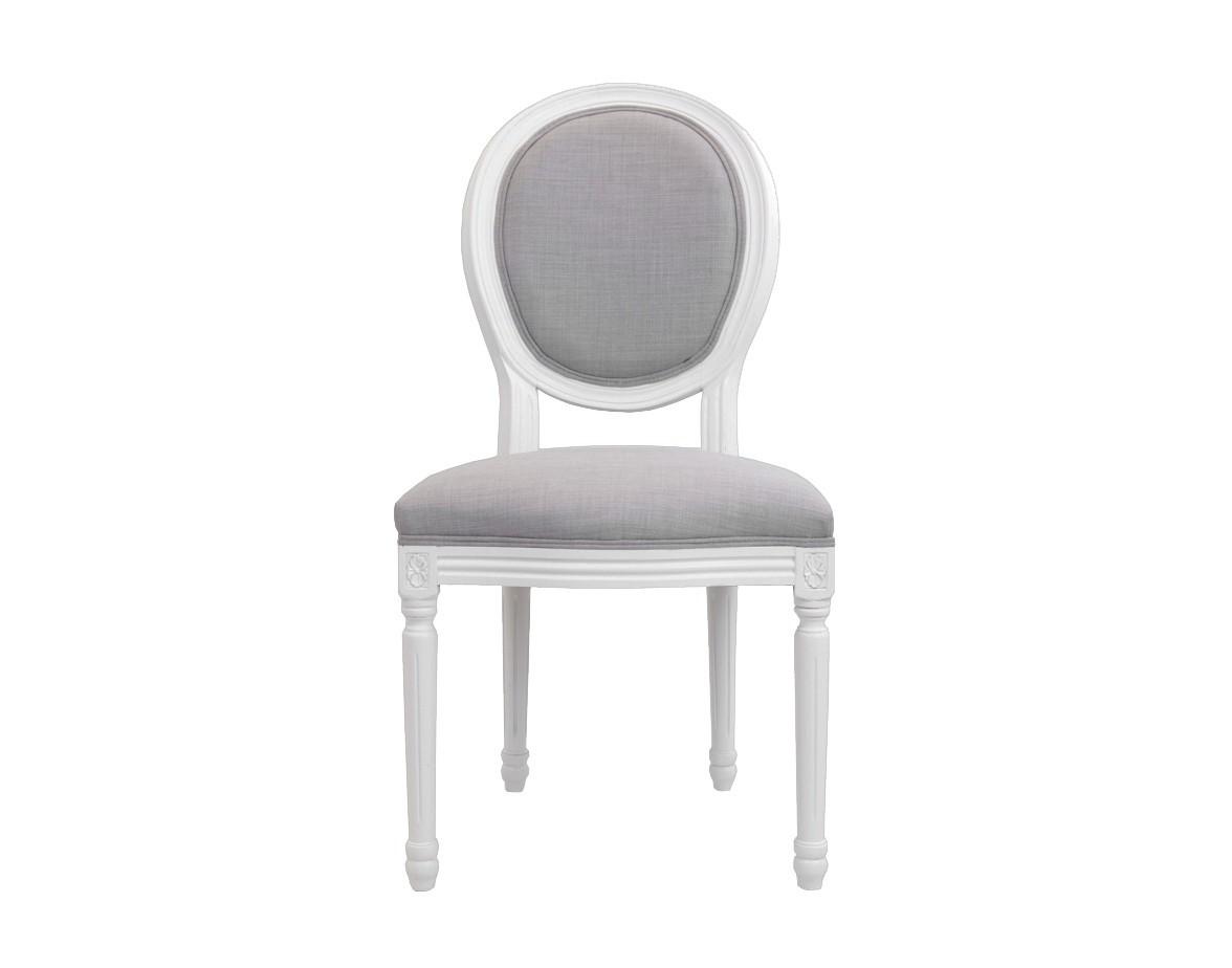 Стул MiroОбеденные стулья<br>Изысканный стул Miro с округлой спинкой напоминающей медальон, выполнен в элегантном классическом французском стиле. Основание модели выполнено из цельной породы древесины — массива дуба. Такой стул эффектно смотрится как в контрастной, так и в однотонной обстановке.&amp;amp;nbsp;<br><br>Material: Дуб<br>Width см: 50<br>Depth см: 56<br>Height см: 98