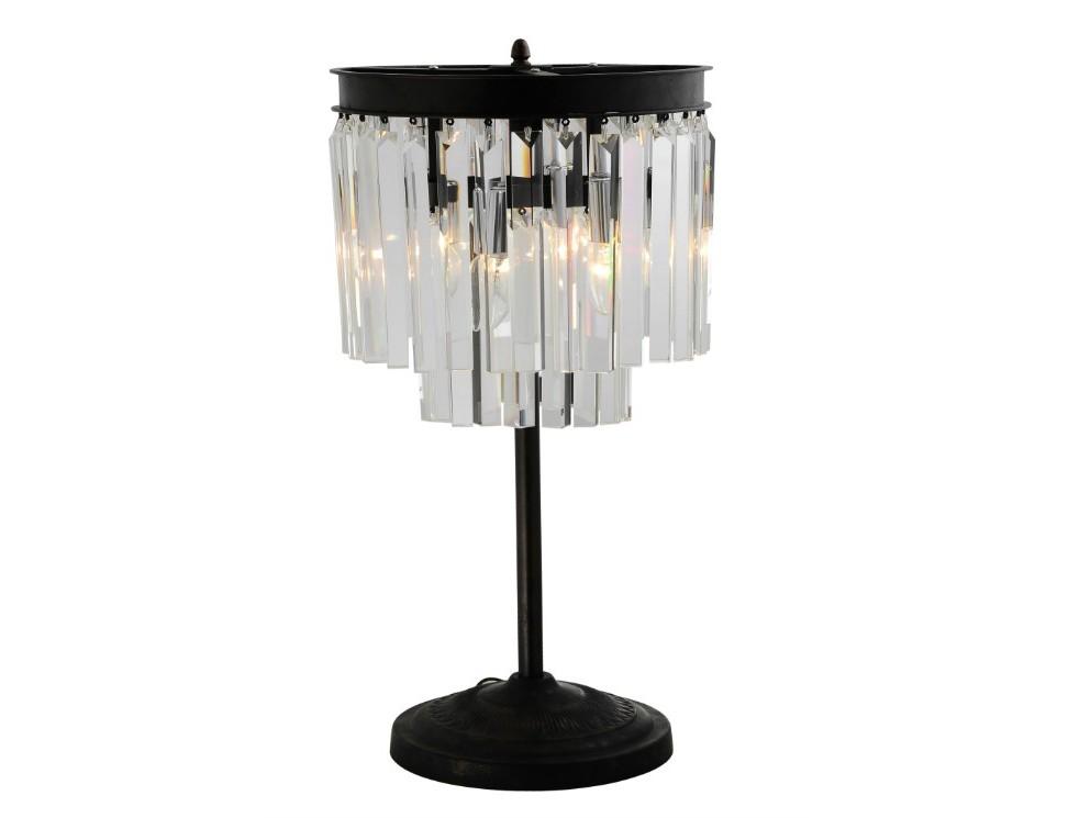 Настольная лампа OdeonДекоративные лампы<br>Настольная лампа Odeon идеально подходит для классической гостиной в современном стиле. Эта лампа подчеркнет изысканность обстановки. В основе конструкции – хромированный металл со спадающими вниз длинными, тонкими полосками из прозрачного стекла. Множественные полоски из прозрачного стекла создают эффектные переливы на его поверхности. Эта престижная модель оформлена в три яруса, между которыми плавные переходы.&amp;amp;nbsp;&amp;lt;div&amp;gt;&amp;lt;br&amp;gt;&amp;lt;div&amp;gt;&amp;lt;div&amp;gt;Цоколь: E14&amp;lt;/div&amp;gt;&amp;lt;div&amp;gt;Мощность ламп: 40W&amp;lt;/div&amp;gt;&amp;lt;div&amp;gt;Количество лампочек: 5&amp;lt;/div&amp;gt;&amp;lt;div&amp;gt;&amp;lt;br&amp;gt;&amp;lt;/div&amp;gt;&amp;lt;/div&amp;gt;&amp;lt;/div&amp;gt;<br><br>Material: Стекло<br>Высота см: 70