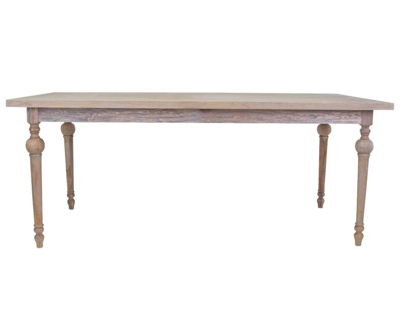 Стол PatonОбеденные столы<br>Стол Paton — традиционная модель для гостиных или столовых. Его привычные очертания дополнят интерьер в классическом стиле. Изюминка модели - элегантные точеные ножки. <br>Материал: массив дуба, МДФ<br>