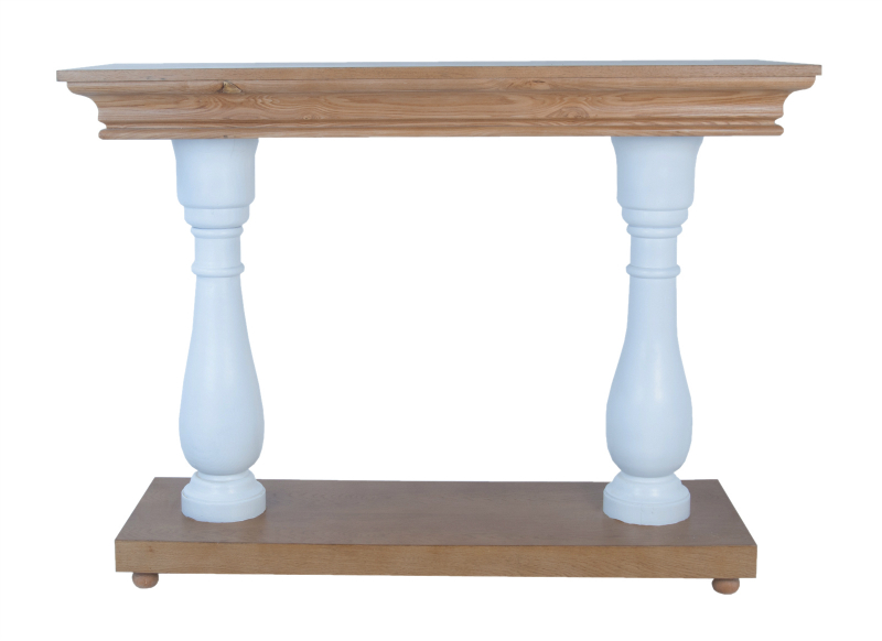 Стол TorikaПриставные столики<br>Прямоугольный пристенный стол Torika — интересный предмет мебели,который дополнит интерьер Вашего дома. Его можно установить в спальне, прихожей или в гостиной.&amp;amp;nbsp;&amp;lt;div&amp;gt;&amp;lt;br&amp;gt;&amp;lt;/div&amp;gt;&amp;lt;div&amp;gt;&amp;lt;span style=&amp;quot;line-height: 24.9999px;&amp;quot;&amp;gt;Материалы: массив дуба, МДФ&amp;lt;/span&amp;gt;&amp;lt;br&amp;gt;&amp;lt;/div&amp;gt;<br><br>Material: Дуб<br>Width см: 120<br>Depth см: 45<br>Height см: 90