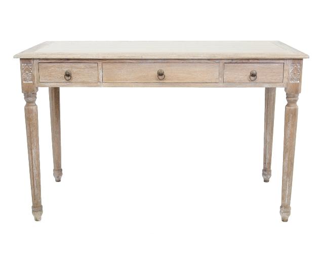 Письменный стол ComanПисьменные столы<br>Письменный стол Coman — облегченная и очень привлекательная модель, изготовлен из массива дерева, оборудован выдвижными ящиками. Такой лаконичный стол впишется в любое дизайнерское решение вашего интерьера.&amp;amp;nbsp;<br><br>Material: Дуб<br>Width см: 125<br>Depth см: 60<br>Height см: 75