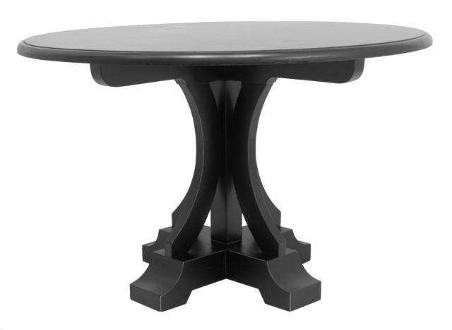 Столик RufaloОбеденные столы<br>У стола Rufalo круглая форма, и одна центральная опора, расположенная по центру. Именно она и привлечет внимание благодаря своему резному декору. Модель идеально подойдет для небольших помещений за счет универсальной формы и сдержанного дизайна.&amp;lt;div&amp;gt;&amp;lt;br&amp;gt;&amp;lt;/div&amp;gt;&amp;lt;div&amp;gt;&amp;lt;br&amp;gt;&amp;lt;/div&amp;gt;<br><br>Material: Дуб<br>Width см: 120<br>Depth см: 120<br>Height см: 76