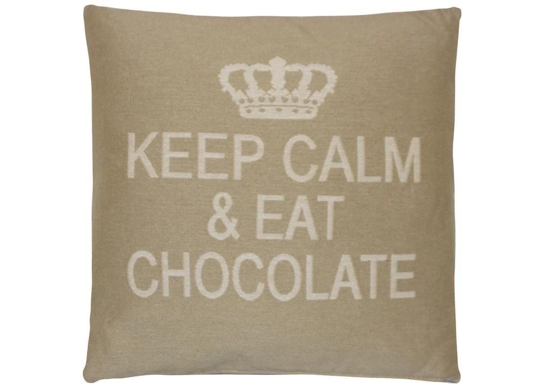 Подушка ШоколадКвадратные подушки и наволочки<br>Декоративные подушки - это всегда легкий и уютный акцент в любом интерьере. Интерьерные подушки FS Home Collections кроме того, что подчеркивают дизайн мягкой мебели, являются очень удобным элементом повседневного быта — отдохнуть на диване с мягкими и удобными подушками — что может быть лучше. Подушки «Шоколад» песочного цвета, являются&amp;amp;nbsp;прекрасным подарком к празднику, оригинальным и практичным. Они украсят и&amp;amp;nbsp;разнообразят любой интерьер — от пышной классики до строгого минимализма и помогут&amp;amp;nbsp;создать атмосферу домашнего уюта.<br><br>Material: Хлопок<br>Width см: 45<br>Depth см: 16<br>Height см: 45