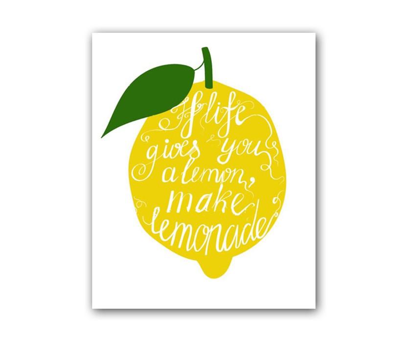 "Постер ""Лимон"""