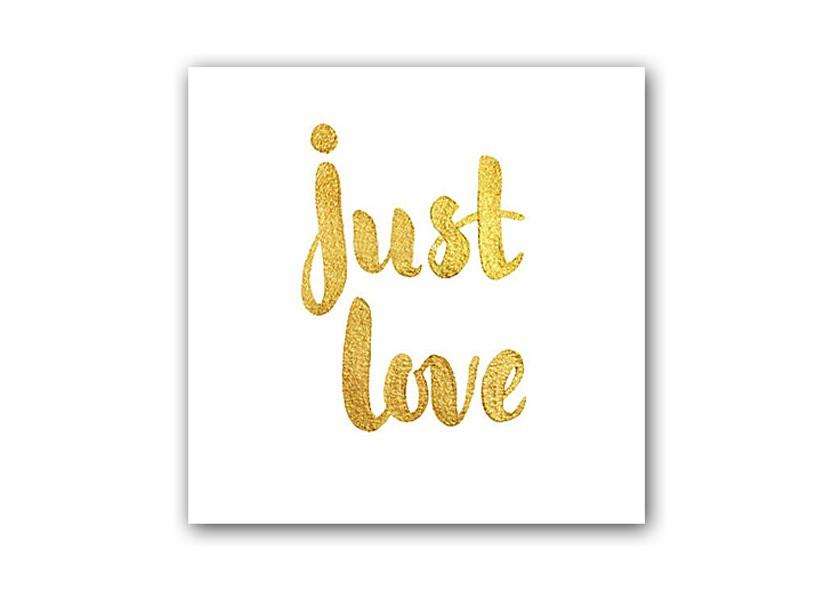 Постер Just loveПостеры<br>Рамки на выбор белого, черного, серебряного, золотого цветов.<br><br>Material: Бумага<br>Length см: None<br>Width см: 30<br>Height см: 40