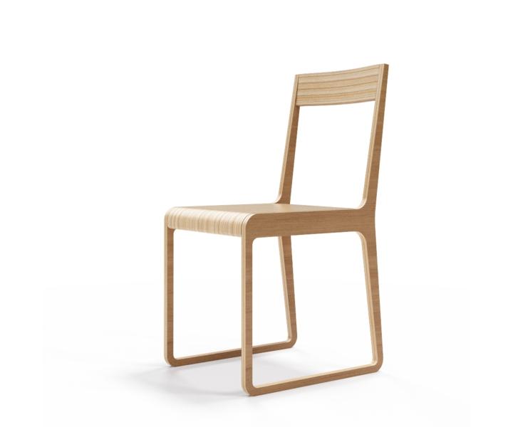 Стул S?tersОбеденные стулья<br>Классика современного дизайна. Отделка шпоном дуба. Сборка не требуется.<br><br>Material: Фанера<br>Width см: 40<br>Depth см: 51<br>Height см: 85