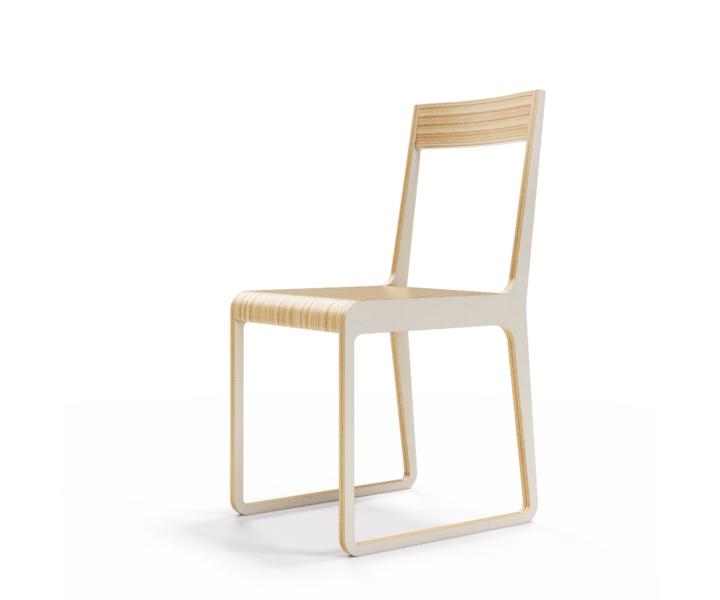 Стул S?tersОбеденные стулья<br>Классика современного дизайна. Окрас элементов стула в молочный цвет. Сборка не требуется.<br><br>Material: Фанера<br>Width см: 40<br>Depth см: 51<br>Height см: 85