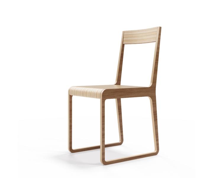 Стул S?tersОбеденные стулья<br>Классика современного дизайна. Отделка шпоном ореха. Сборка не требуется.<br><br>Material: Фанера<br>Width см: 40<br>Depth см: 51<br>Height см: 85
