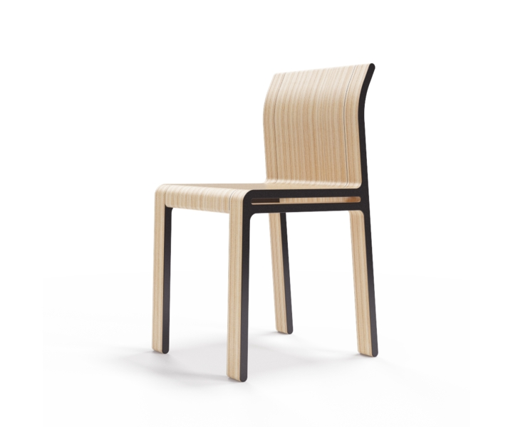 Стул M?nster?sОбеденные стулья<br>Простота и основательность. Окрас элементов стула в графитовый цвет. Сборка не требуется.<br><br>Material: Фанера<br>Width см: 40<br>Depth см: 46<br>Height см: 82