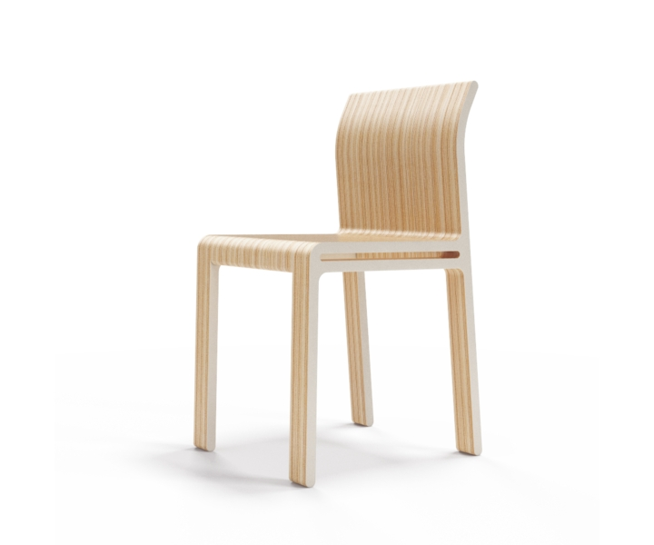 Стул M?nster?sОбеденные стулья<br>Простота и основательность. Окрас элементов стула в молочный цвет. Сборка не требуется.<br><br>Material: Фанера<br>Width см: 40<br>Depth см: 46<br>Height см: 82