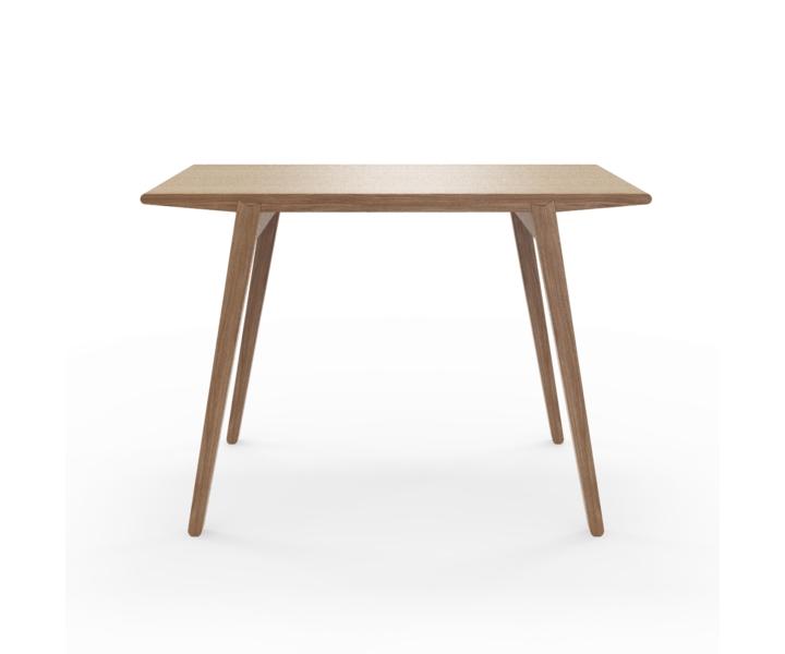 Стол M?nster?sОбеденные столы<br>Стол M?nster?s сочетает в себе формы футуристичных 60-х и естественность скандинавского дизайна. Отделка шпоном ореха. Сборка не требуется. Данный стол производится в 5 размерах.<br><br>Material: Фанера<br>Width см: 110<br>Depth см: 60<br>Height см: 75