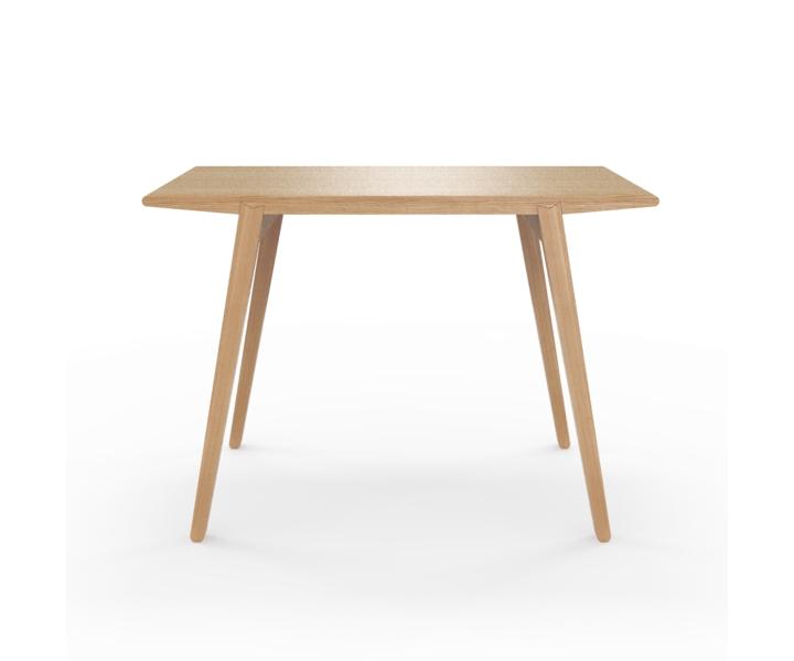 Стол M?nster?sОбеденные столы<br>Стол M?nster?s сочетает в себе формы футуристичных 60-х и естественность скандинавского дизайна. Отделка шпоном дуба. Сборка не требуется. Данный стол производится в 5 размерах.<br><br>Material: Фанера<br>Ширина см: 110<br>Высота см: 75<br>Глубина см: 60