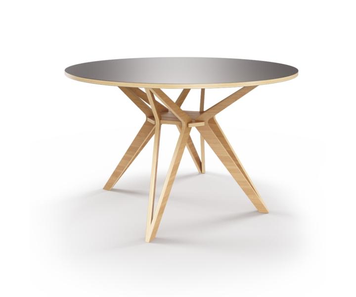 Стол HagforsОбеденные столы<br>&amp;lt;div&amp;gt;Hagfors – это стол, необычный дизайн которого создаст изящный акцент в вашем интерьере.&amp;amp;nbsp;&amp;lt;/div&amp;gt;&amp;lt;div&amp;gt;Возможен в диаметрах 60, 90, 100, 120 и 148см.&amp;lt;/div&amp;gt;&amp;lt;div&amp;gt;&amp;lt;br&amp;gt;&amp;lt;/div&amp;gt;&amp;lt;div&amp;gt;Отделка шпоном дуба.&amp;lt;/div&amp;gt;<br><br>Material: Фанера<br>Высота см: 75
