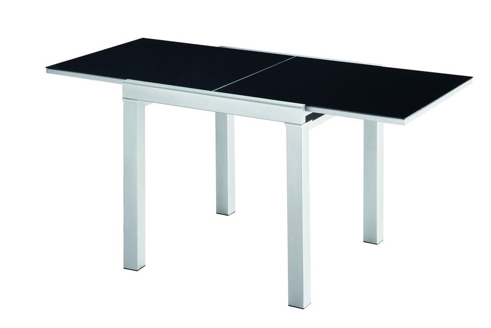 Стол 4001 черныйОбеденные столы<br>Раскладывается до 150 см.<br><br>Material: МДФ<br>Width см: 75<br>Depth см: 75<br>Height см: 75
