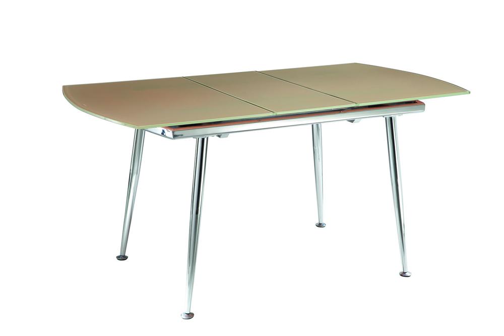 Стол 6230 желтыйОбеденные столы<br>Раскладывается до 155 см.<br><br>Material: Стекло<br>Width см: 120<br>Depth см: 80<br>Height см: 75