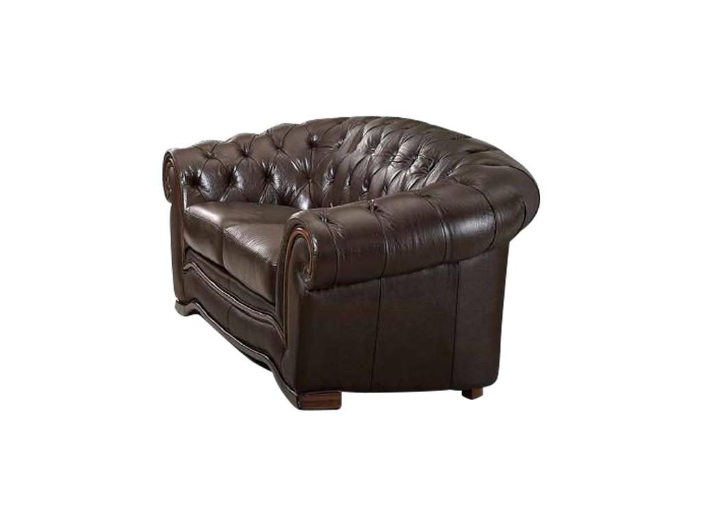 Диван B-262 (2-х местный) коричневыйКожаные диваны<br>Сборка не требуется.<br><br>Material: Кожа<br>Width см: 178<br>Depth см: 101<br>Height см: 86