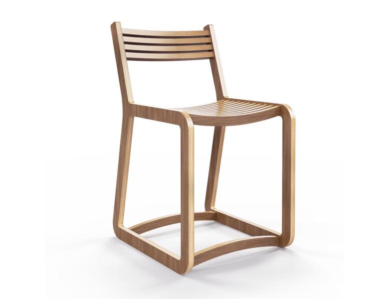 Стул DegerforsОбеденные стулья<br>Отделка шпоном ореха. Сборка не требуется.<br><br>Material: Фанера<br>Width см: 41<br>Depth см: 50<br>Height см: 74
