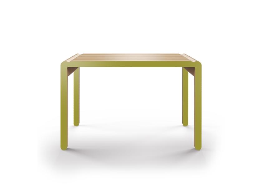 Стол M?nster?s rundaОбеденные столы<br>Скандинавский дизайн с его любовью к простоте и дереву. Окрас элементов стола в оливковый цвет. Сборка не требуется. Данный стол производится в 5 размерах.<br><br>Material: Фанера<br>Width см: 110<br>Depth см: 60<br>Height см: 75